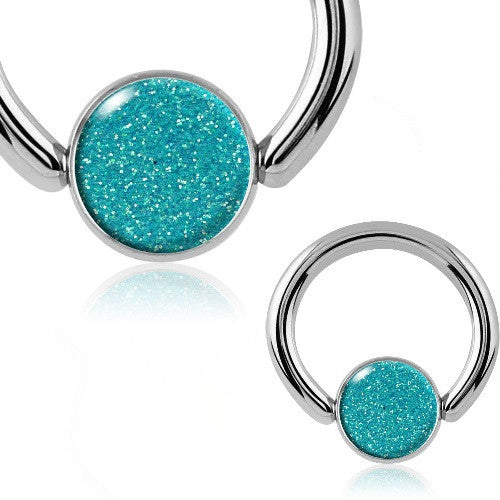 Blue Opal Belly Button Rings Australia