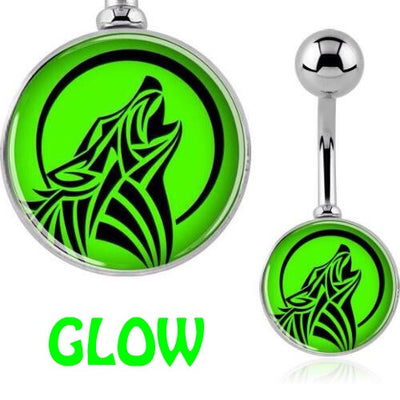 Glow in the Dark Navel Jewellery