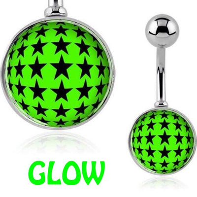 Night Sky Glow in the Dark Belly Bar