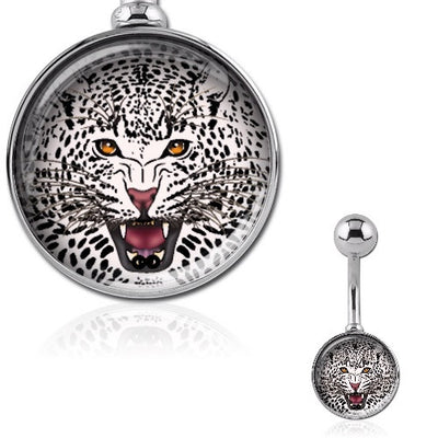 Leopard Belly Button Piercing Jewellery
