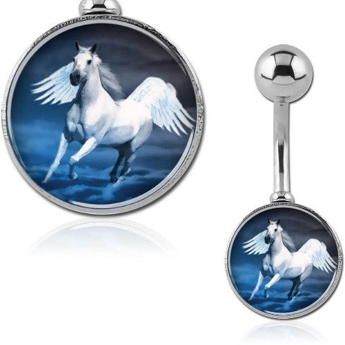 Horse Belly Button Rings
