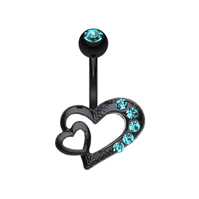 Heart Navel Ring Jewellery Australia