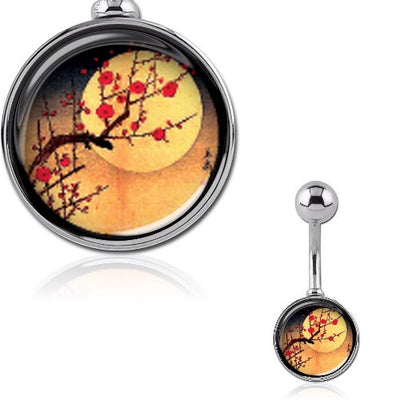 Japanese Sakura Tree - Cherry Blossom Belly Bar