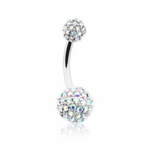 Aurora Iced Glamour Tiffany Belly Bar