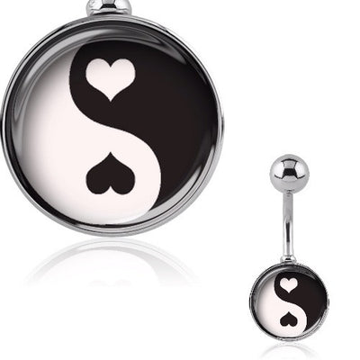 Yin and Yang Belly Bar