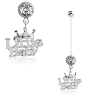 Little Baby Pregnancy/Maternity Belly Ring