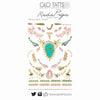 GLO TATTS® LIMITED EDITION Rada Priya Design Pack Temporary Tattoos