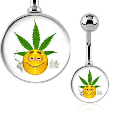 Stoned Emoji Belly Bar