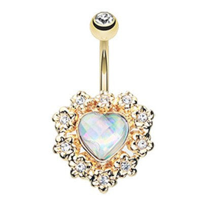 Seraphina Heart Belly Bar - Hearts Protector