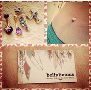 @jess_ley bellylicious babe haul pic - June 2015. Instagram @bellyliciousbellyrings