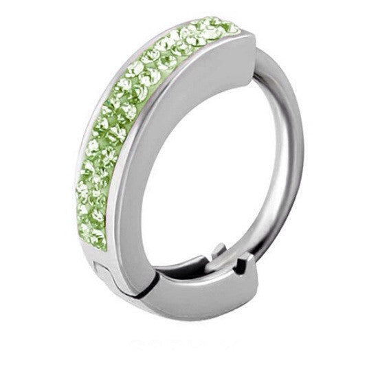 Tiffany Belly Huggie In Peridot Navel Ring