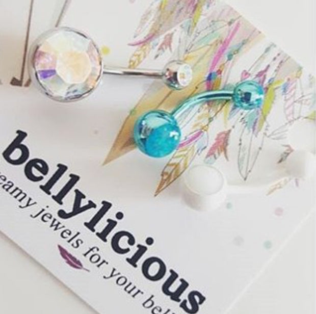 Image via Instagram @laura807 - Instagram your pics @bellyliciousbellyrings
