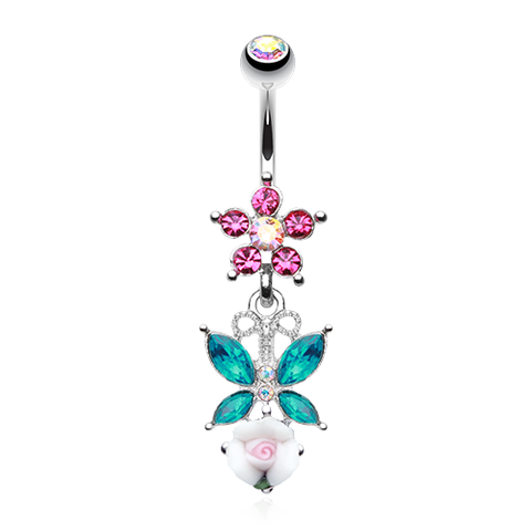 Butterfly Belly Button Rings