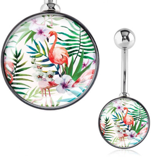 Tropical Garden Delight Belly Bar