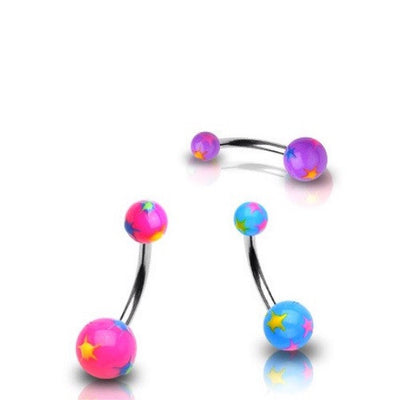 Acrylic Belly Bars Australia. Bellylicious Body Jewellery.