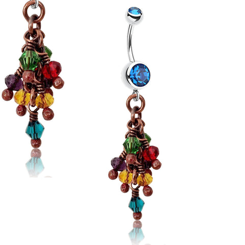 Bella Bohemia Blue Rainbow Crush Belly Bar