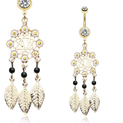 Buy Dangle Belly Rings Australia