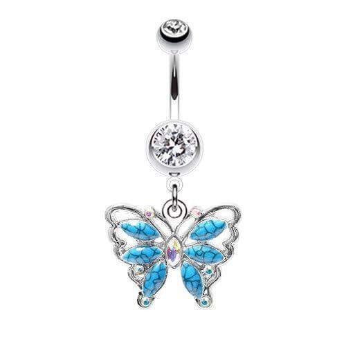 Bella Bohemia Turquoise Belly Ring