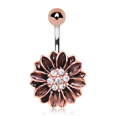 Rose Gold Navel Piercing Jewellery