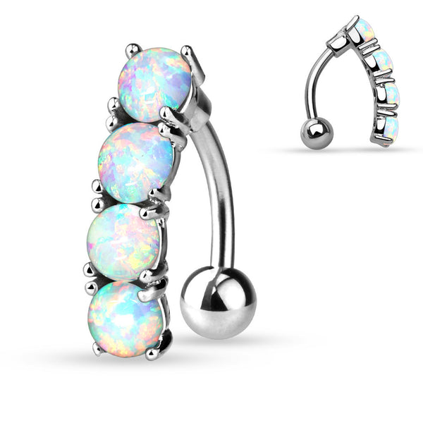 Opal Belly Button Rings