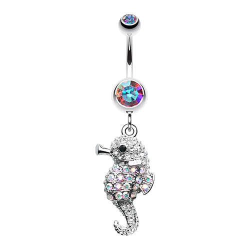 Baby Seahorse Belly Ring
