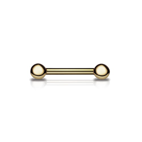 Maria Tash 14k Gold Nipple Barbell