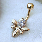 Bumble Bee Belly Ring
