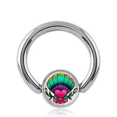 Captive Bead Navel Ring