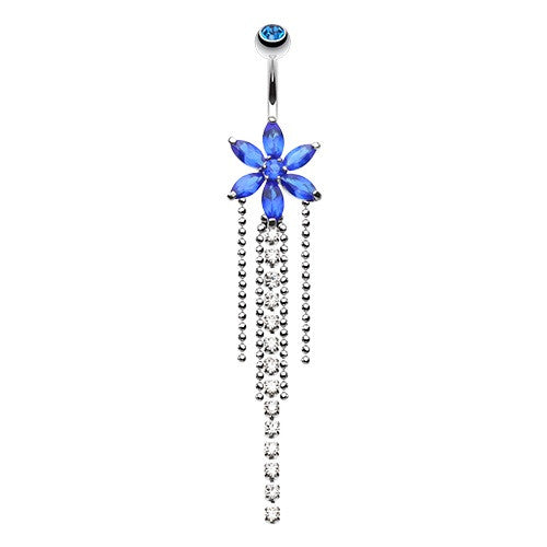 Shop Flower Navel Rings Online