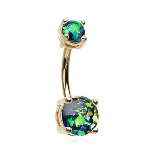 Buy Opal Belly Rings Australia