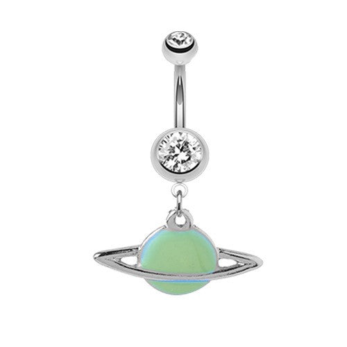 Planet Saturn Belly Bar