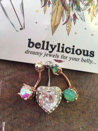 Image courtesy of @caitlin_maddison - Instagram your pics to @bellyliciousbellyrings