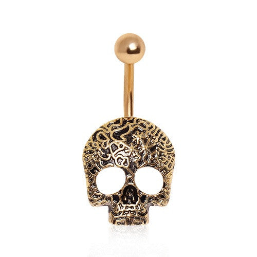 Skull Belly Button Rings Australia