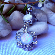 Ishbell Luxe Opal Belly Dangle