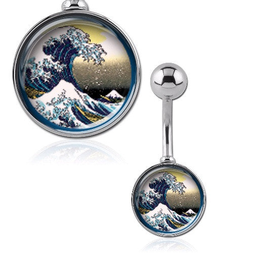 Kanagawa - The Great Wave Belly Bar
