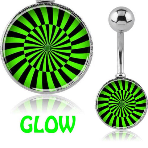 Glow in the Dark Belly Piercing Jewellery