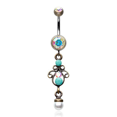 Jewelled Belly Button Jewellery