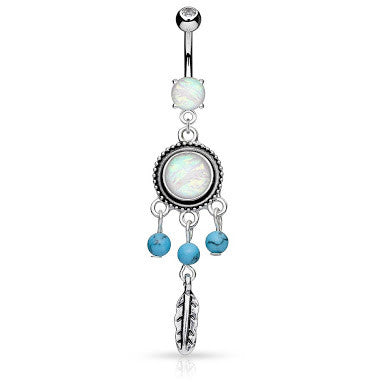 Susvapna Opal Drems Belly Dangle