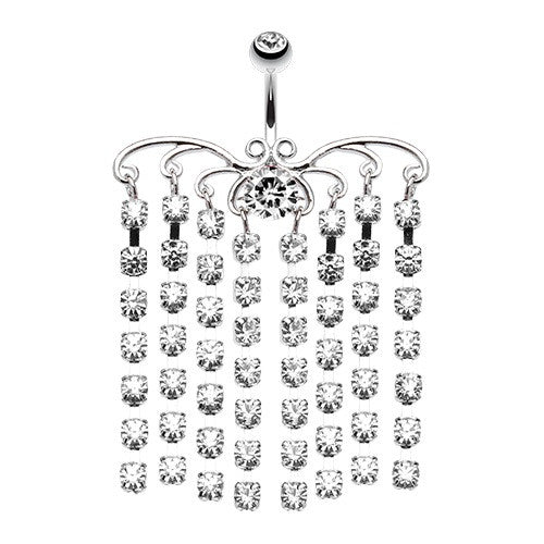 Chandelier belly button rings navel rings australia chandelier belly button rings navel rings australia bellylicious belly ring shop mozeypictures Gallery