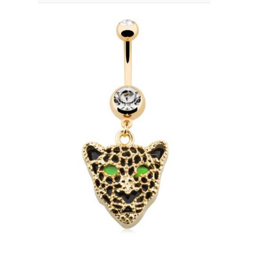 Panther Belly Rings