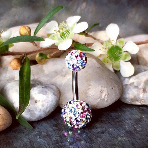 Unicorn Sparkle Glamour Tiffany Belly Bar