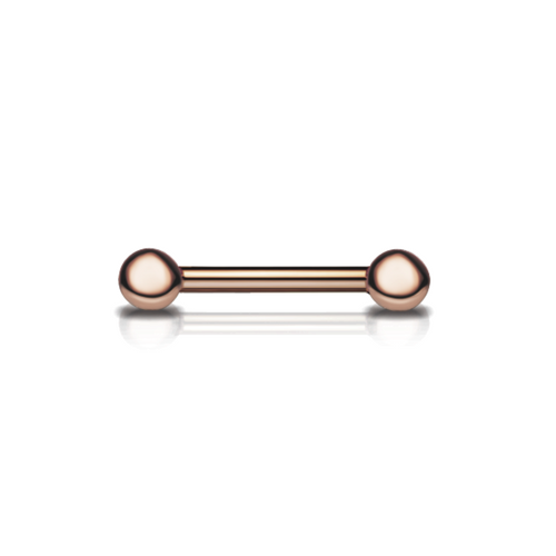 Maria Tash 14k Rose Gold Nipple Barbell