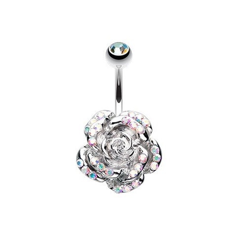 Aurora Rose Sparkle Belly Bar