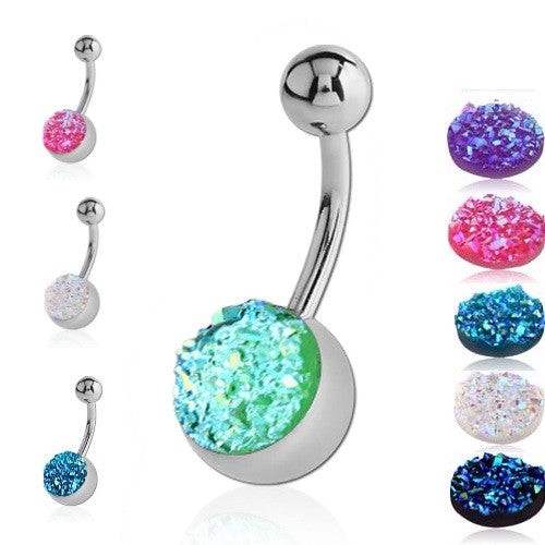 Druzy Belly Bars