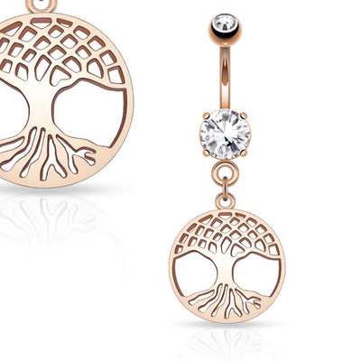 Eden Tree of Life Belly Dangle