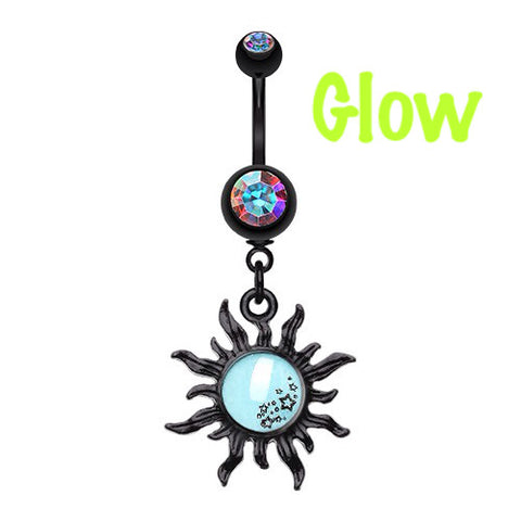 Glow in the Dark Star Cluster Sun Belly Bars