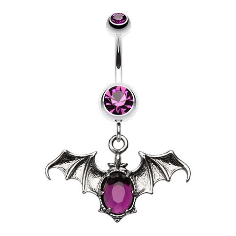 Bat Belly Button Jewellery
