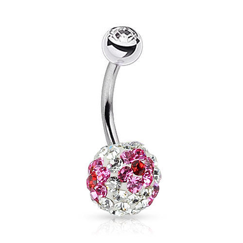 Pink Magic Tiffany Flower Belly Bar