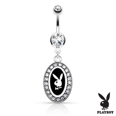 316L Surgical Steel Playboy Bunny Navel Ring