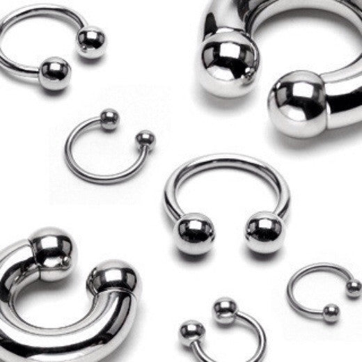 Circular Barbell in 316L Surgical Steel Navel Ring